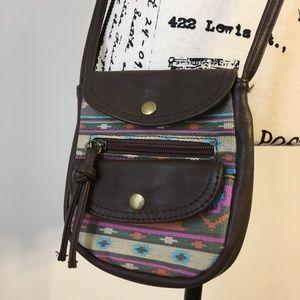 NWOT Southwestern crossbody bag
